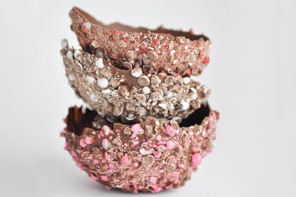 Make Chocolate Bowls for Ice Cream! | this heart of mine