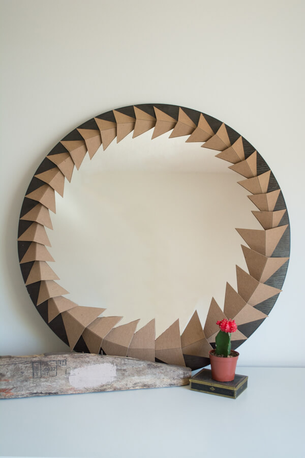 Chipboard Mirror | this heart of mine
