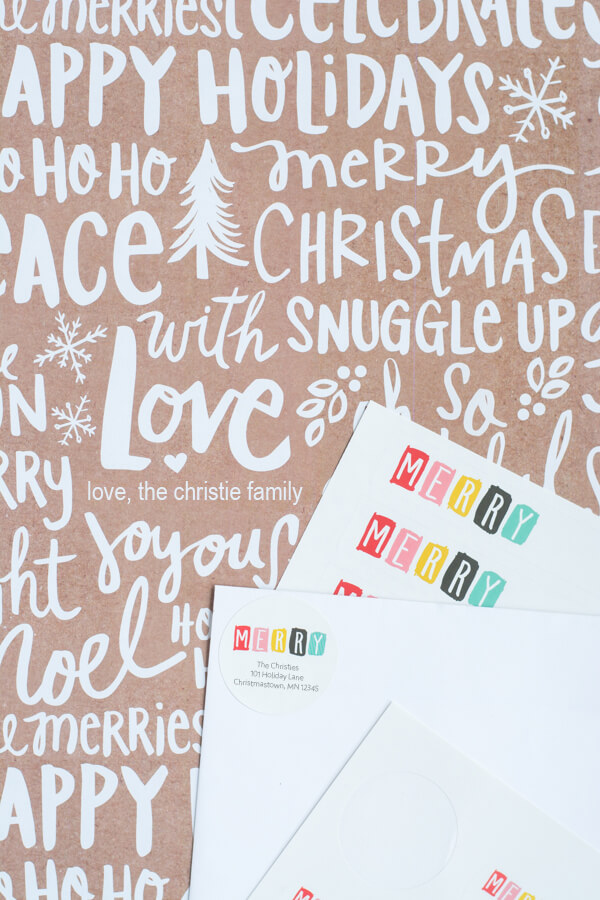New Labels for the Holidays | this heart of mine