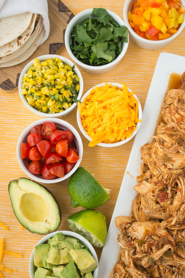 Simple & Mostly Healthy Chicken Tacos for Any Night of the Week | this ...